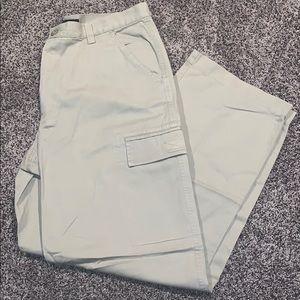 Express Mens Tan Cargo Pants SZ.36x30